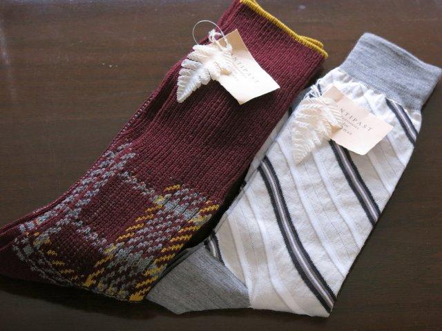 レイクタウンアウトレットで購入したアンティパストの靴下