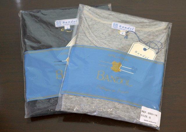 夏のファイナルセールで買ったBANDOLのTシャツ