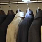 クローゼットの満足度を高める!! 中田工芸のジャケット用ハンガー