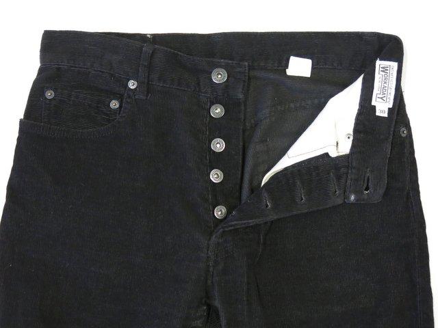 エンジニアードガーメンツのパンツの裾幅をテーパードにお直し