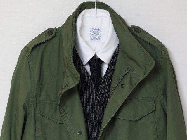 安くて使い勝手の良い、無印良品のM65フィールドジャケット