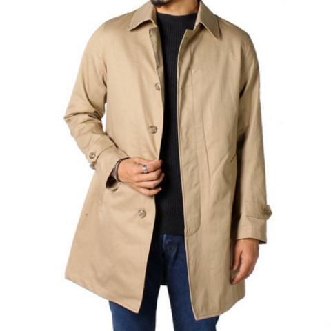 欲しいもの-春先まで着られるステンカラーコート