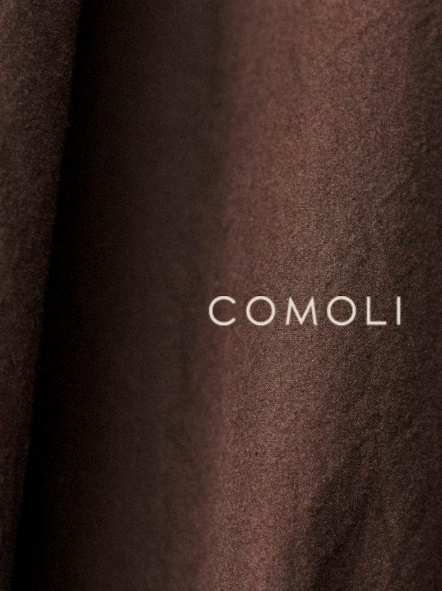 COMOLIの公式サイトと2016AWのルック