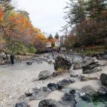 紅葉の草津温泉はやっぱり寒かった!という話