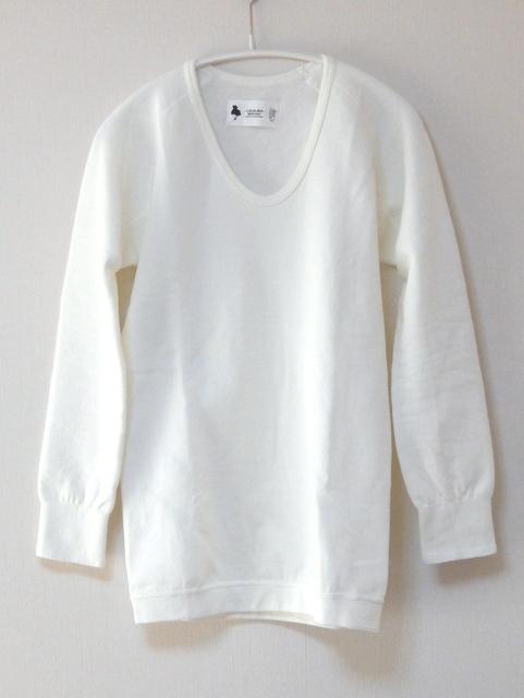 ロカリナ/もちはだのUネック長袖Tシャツ
