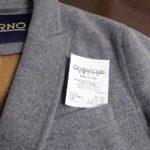 予想より高くついた、ヘルノのコートの袖詰め
