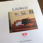 ユニクロの『Life Wear Magazine』