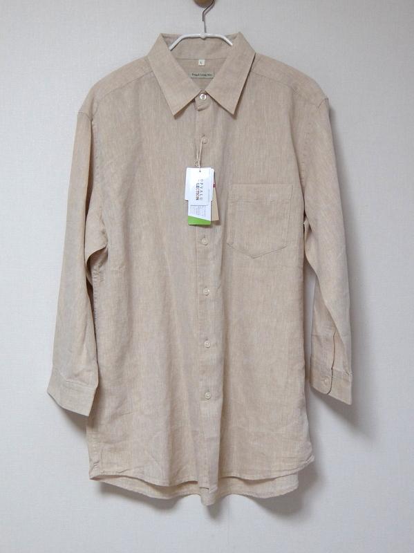 イオンのリネンシャツを半額で購入