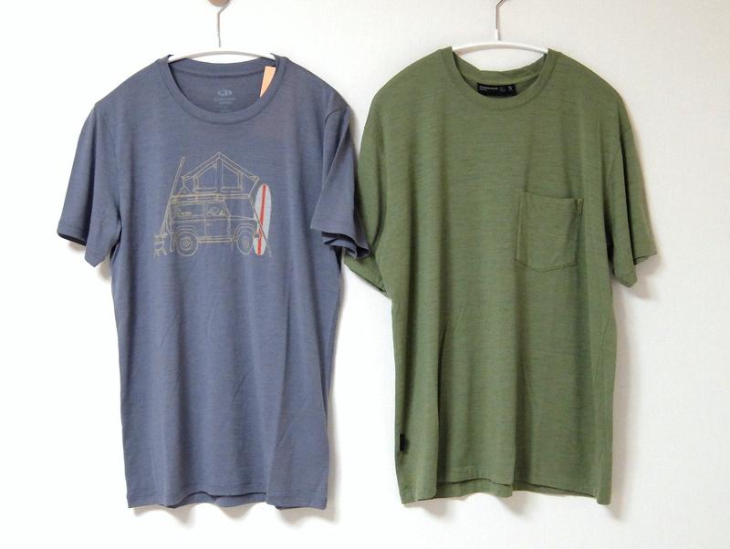 The North FaceのアウトレットでTシャツ購入